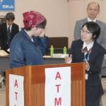 木更津警察署に協力いただいて電話de詐欺防止研修会を実施いたしました