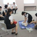 救急救命講習を実施しました