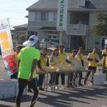 ちばアクアラインマラソン2018のボランティアに参加しました