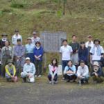 鎌足桜の「第一回下草刈り」に参加いたしました